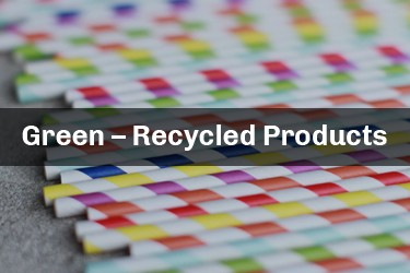 Green – Recycled Products